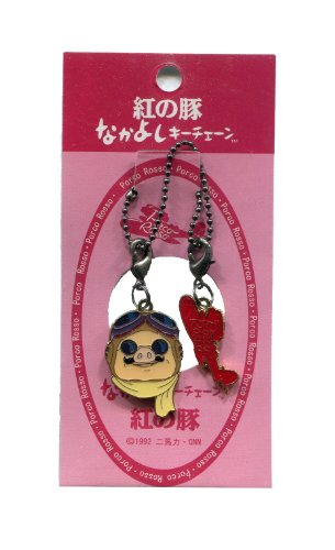 Porco Rosso Nakayoshi keychain