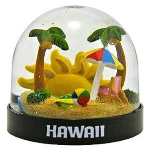 Hawaii Sunshine Snow Globe