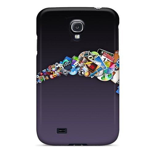Fashionable Style Case Cover Skin For Galaxy S4- Mac Applications front-545358