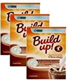 Nutren Build Up Instant Drink Chocolate 4 Sachets-PACK OF 3