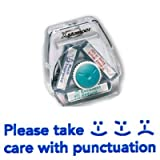 Teachers Stamp to fit Xstamper 3 in 1 Please Take Care With Punctuation CXM200805 stamp block only