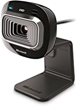 Microsoft LifeCam HD-3000 - Cámara Web HD (USB, 720p, CMOS, 1 MP, 30 fps) color negro