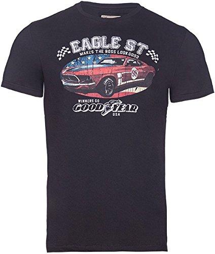 Goodyear Herren T-Shirt Louisville, Color:black;Größe:S