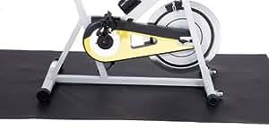 FA Sports Bodenschutzmatte Protectfloor, Schwarz, 180 x 100 x 0.4  cm, 627