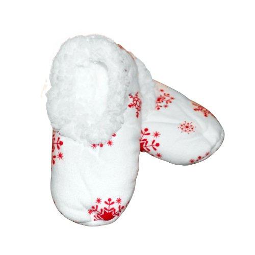 Baby Snowflake Footies Sleepytimepjs (Sml) front-521137