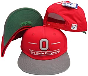 Ohio State Buckeyes Classic Split Bar Snapback Adjustable Snap Back Hat Cap