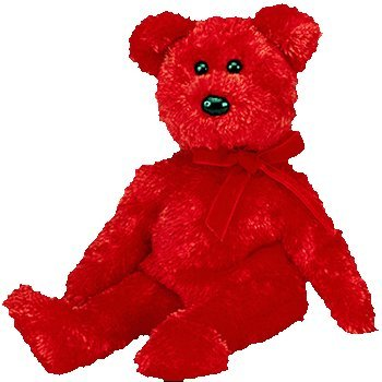 TY Beanie Baby - SIZZLE the Bear [Toy]