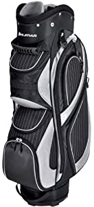 Orlimar Ladies Executive Series Pin Stripe Golf Cart Bag (Black/Silver)