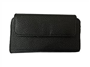 Zocardo Hard Leather Belt Pouch for InFocus M370 - Black