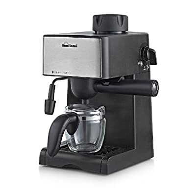 Sunflame SF-712  4-Cups 800-Watt Espresso Machine (Black)