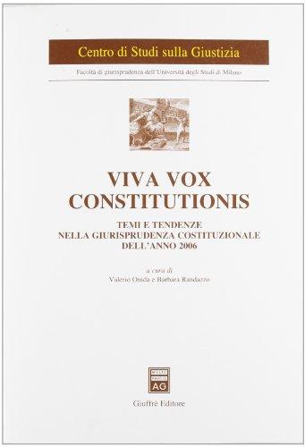 viva-vox-constitutionis-temi-e-tendenze-nella-giurisprudenza-costituzionale-dellanno-2006