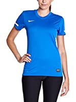 Nike Camiseta Manga Corta Training Top (Azul / Blanco)