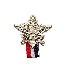 Knighthood Victory Flag Lapel Pin /Shirt Stud