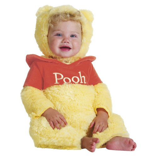 Disney Baby Infant Winnie the Pooh Prestige Dress Up Costume 6-12M