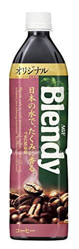 AGF ブレンディボトルコーヒー オリジナル 900ml×12本