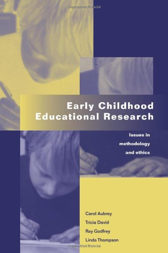 Early Childhood Educational Research: Issues In Methodology And Ethics front-718018