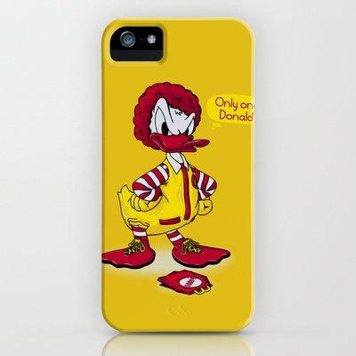 Society6/ソサエティシックス iphone5/5Sケース ドナルドダック ディズニー donald