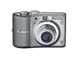 Canon PowerShot A1100IS 12.1 MP Digital Camera with 4x Optical Image Stabilized Zoom and 2.5-inch LCD (Silver) (OLD MODEL)