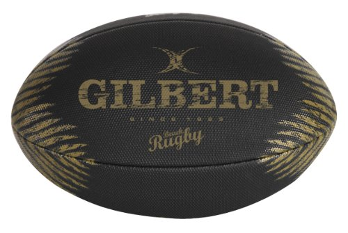 Gilbert Men's Beach Rugby Specialist Ball - Black