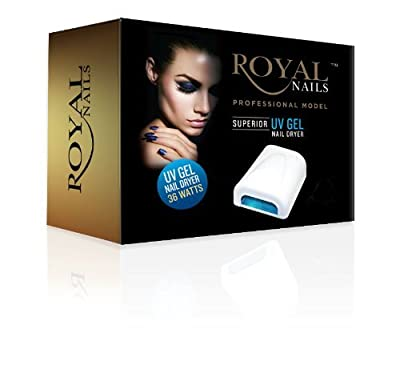 Best Cheap Deal for Royal Nails Professional UV Light Gel and Acrylic Nail Dryer by ROYAL NAILS - Free 2 Day Shipping Available