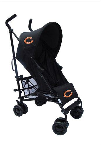 Chicago Bears Camouflage Black Umbrella Stroller front-37693