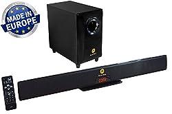SoundBoss PS-110 4.1 CHANNEL 11000 PMPO Sound Bar Speaker