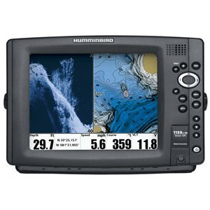 Humminbird 1159Ci Hd Di Combo Fish Finder System, Black