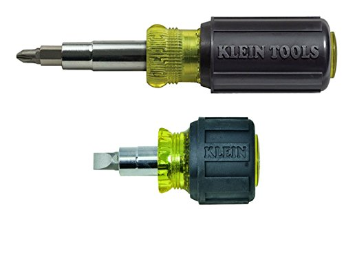 Klein 6:1 Stubby and 11:1 Screwdriver/Nutdriver Bundle