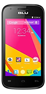 BLU Dash JR 4.0 K Smartphone - Unlocked - Black