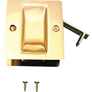 Prime line products solid brass pocket door passage pull for Is home improvement on amazon prime
