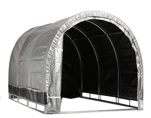 Lawn Mower Shelter : Storage solutions is hp lawn garden shelter
