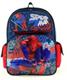 Marvel Spiderman Large Kids School Backpack-sky Walker