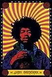 1art1 32087 Poster Jimi Hendrix Psychédélique 91 X 61 cm