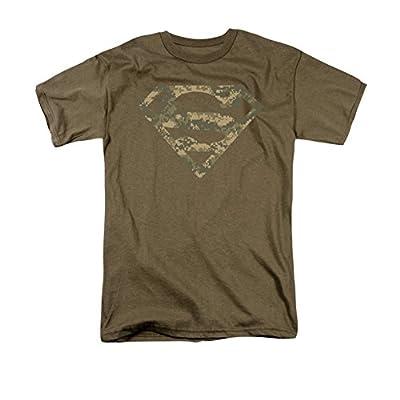 Superman Army Camo Shield T-Shirt