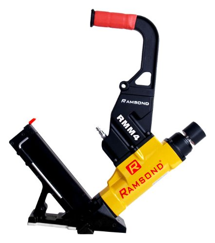 Ramsond rmm4 2 in 1 air hardwood flooring cleat nailer and for Hardwood floors nail gun