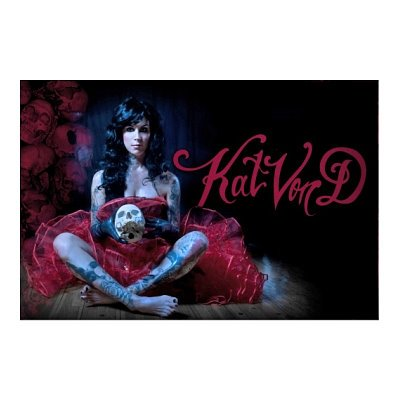 Kat Von D Pretty Coat 24X36 Poster Tattoos La Ink 1578 Poster Print, 36X24