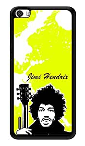 "Humor Gang Jimi Hendrix Art Neon Green Printed Designer Mobile Back Cover For ""Huawei Honor 6"" (3D, Glossy, Premium Quality Snap On Case)"