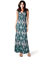 Per Una Abstract Print Maxi Dress