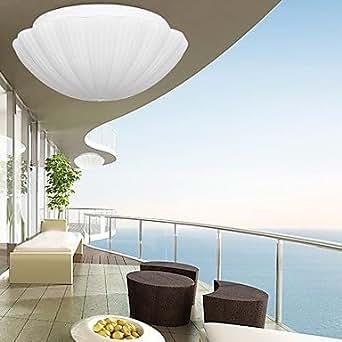 putz wei em glas schale schlicht und modern 220v beleuchtung. Black Bedroom Furniture Sets. Home Design Ideas