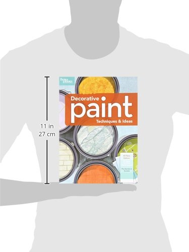 Decorative paint techniques ideas 2nd edition better homes and gardens better homes and Better homes and gardens house painting tool