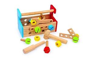 Caja de Construcción por small foot company (HANDY) en BebeHogar.com