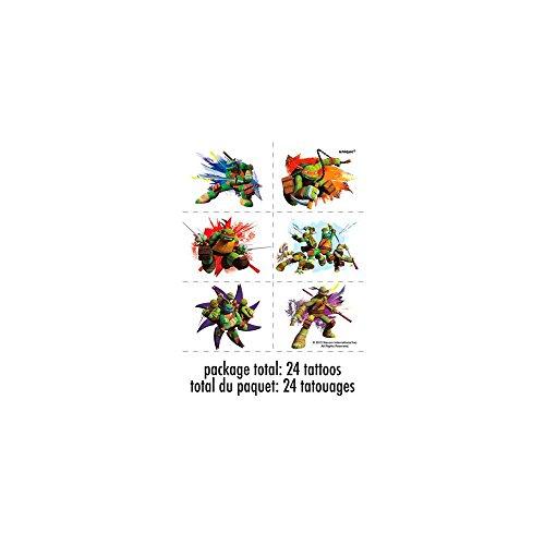 1 X Nickelodeon Teenage Mutant Ninja Turtles Tattoo Sheets