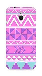 Amez designer printed 3d premium high quality back case cover for Infocus M2 (Pattern 4)