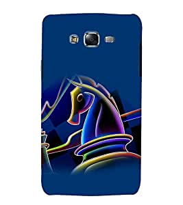 printtech Chess Horse Play Back Case Cover for Samsung Galaxy Grand Prime G530h