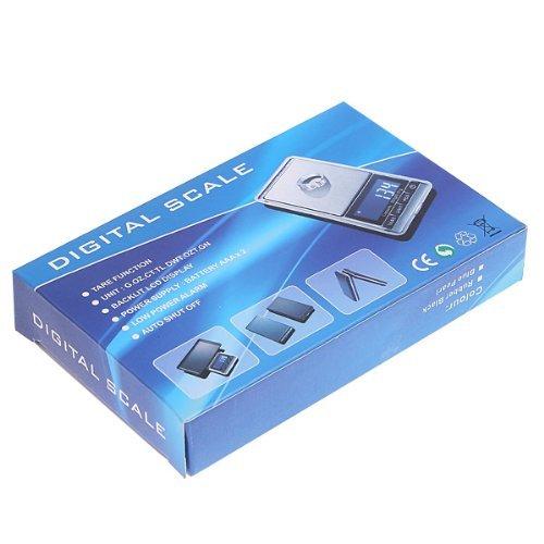 SODIAL(R) 0.01g-200g Balance numerique de LCD Argent
