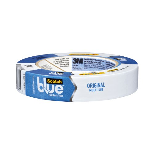 ScotchBlue Painter's Tape, Multi-Surface, .94-Inch by 60-Yard, 6-Roll