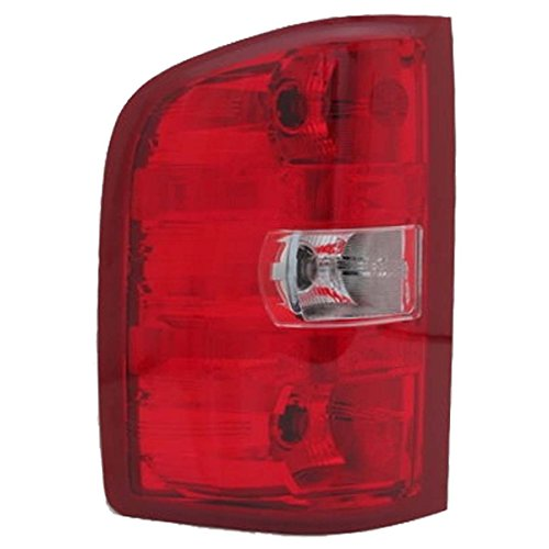 Aftermarket Replacement Replacement Driver Side Taillight Assembly (2008 Silverado Taillights compare prices)