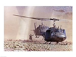 UH-1A Iroquois Helicopters Poster Print (24 x 18)