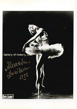 ALEXANDRA DANILOVA - PHOTOGRAPH SIGNED 1992