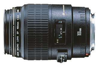 Canon EF 100mm f/2.8 Macro USM Lens for Canon SLR Cameras